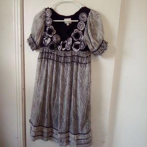 Beige by eci dress size 4